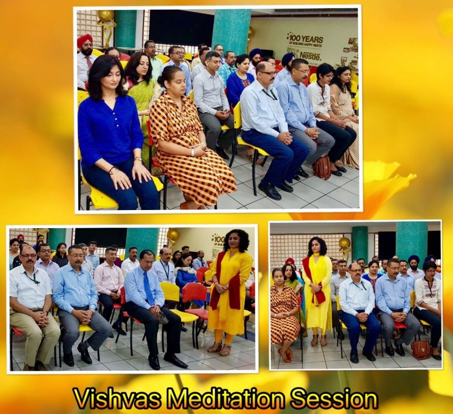 Vishvas Meditation at Nestle India Limited,Gurgaon