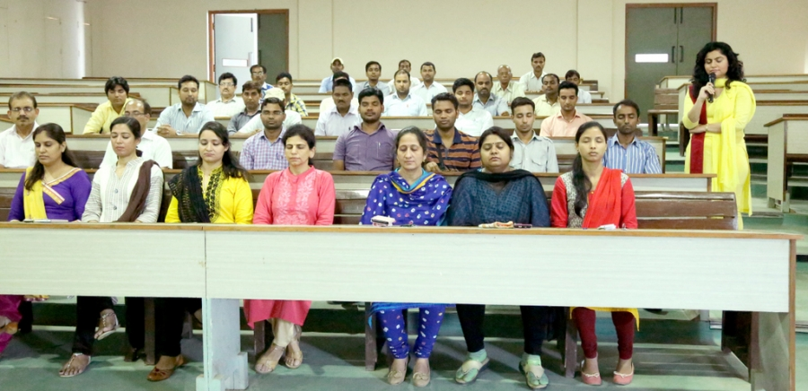Vishvas Meditation at Teerthankar Mahaveer University