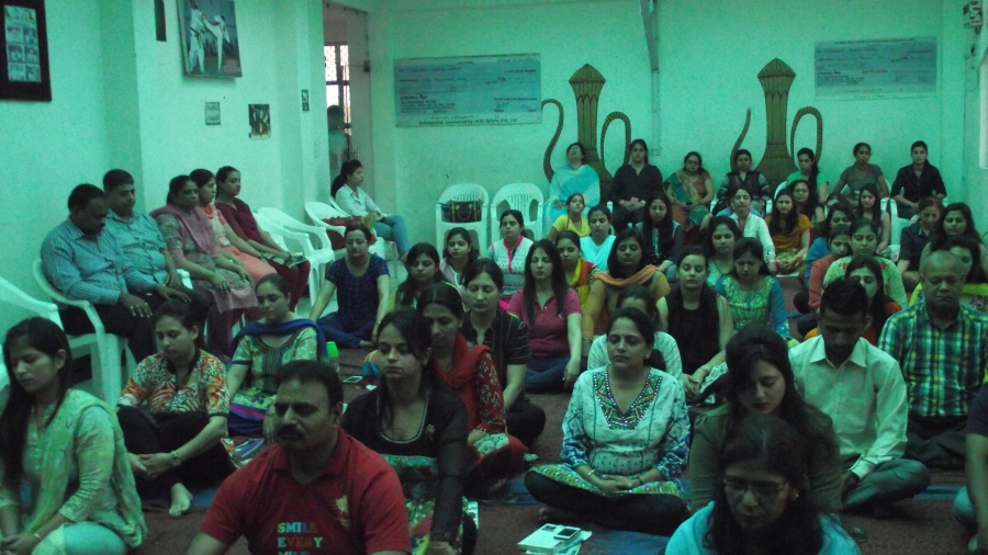 Vishvas Meditation at Richmondd Global School, Delhi
