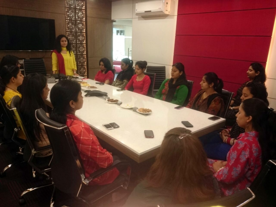 Vishvas Meditation at TUI India, Gurgaon