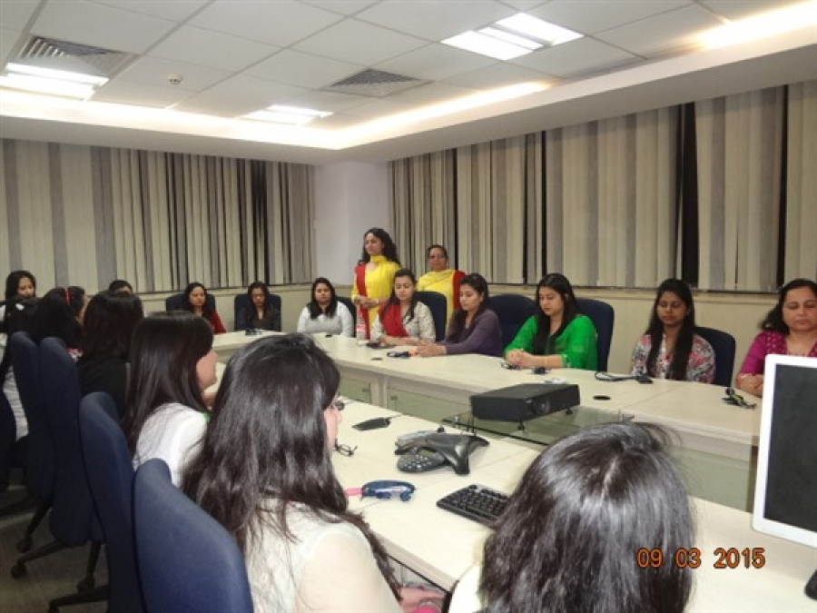 Vishvas Meditation at Tata Consultancy Services Mathura Road, Delhi