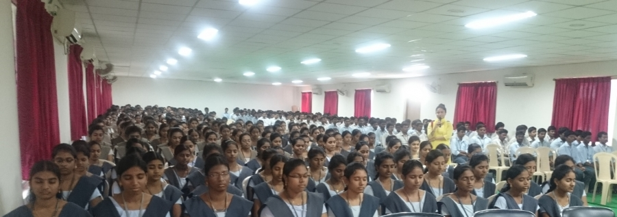 Vishvas Meditation at  Swarnandhra College of Engineering & Technology , Andhra Pradesh